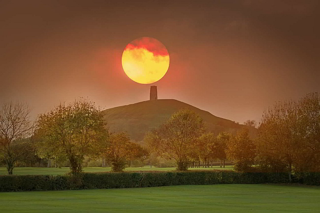 Glastonbury Moon Somerset